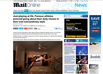 Athletes Among Us featured in Daily Mail