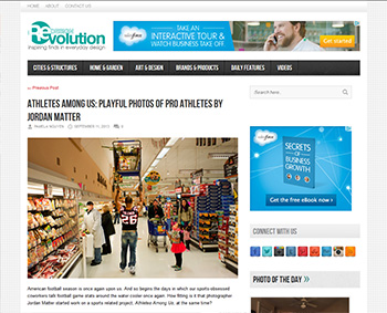 Athletes Among Us featured on Redesign Revolution