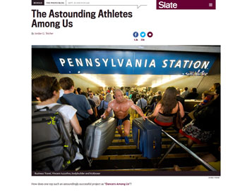 Athletes Among Us featured in Slate Magazine