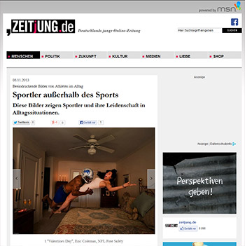 Athletes Among Us featured on zeitjung.com
