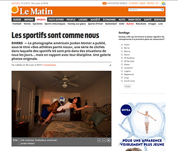 Athletes Among Us featured on Le Matin