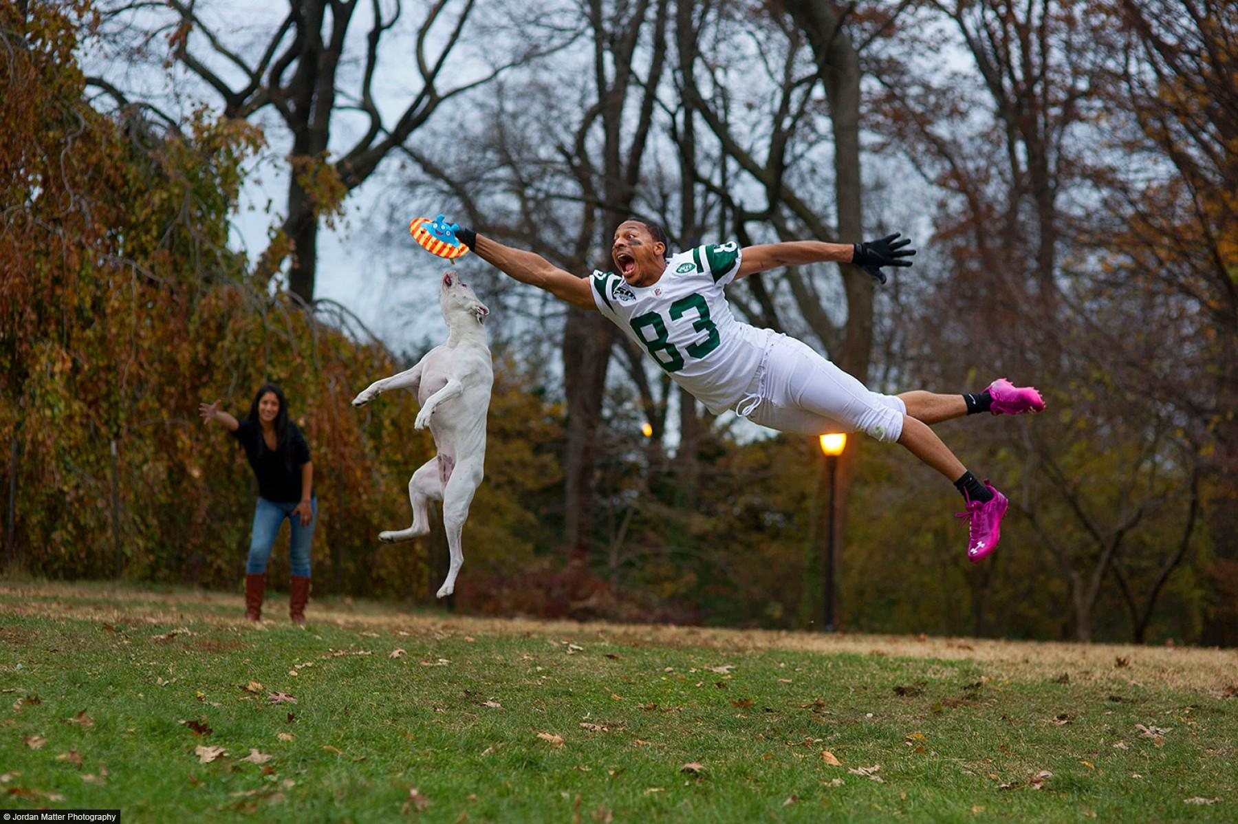 """Fetch"" / Chansi Stuckey / NY Jets wide receiver"