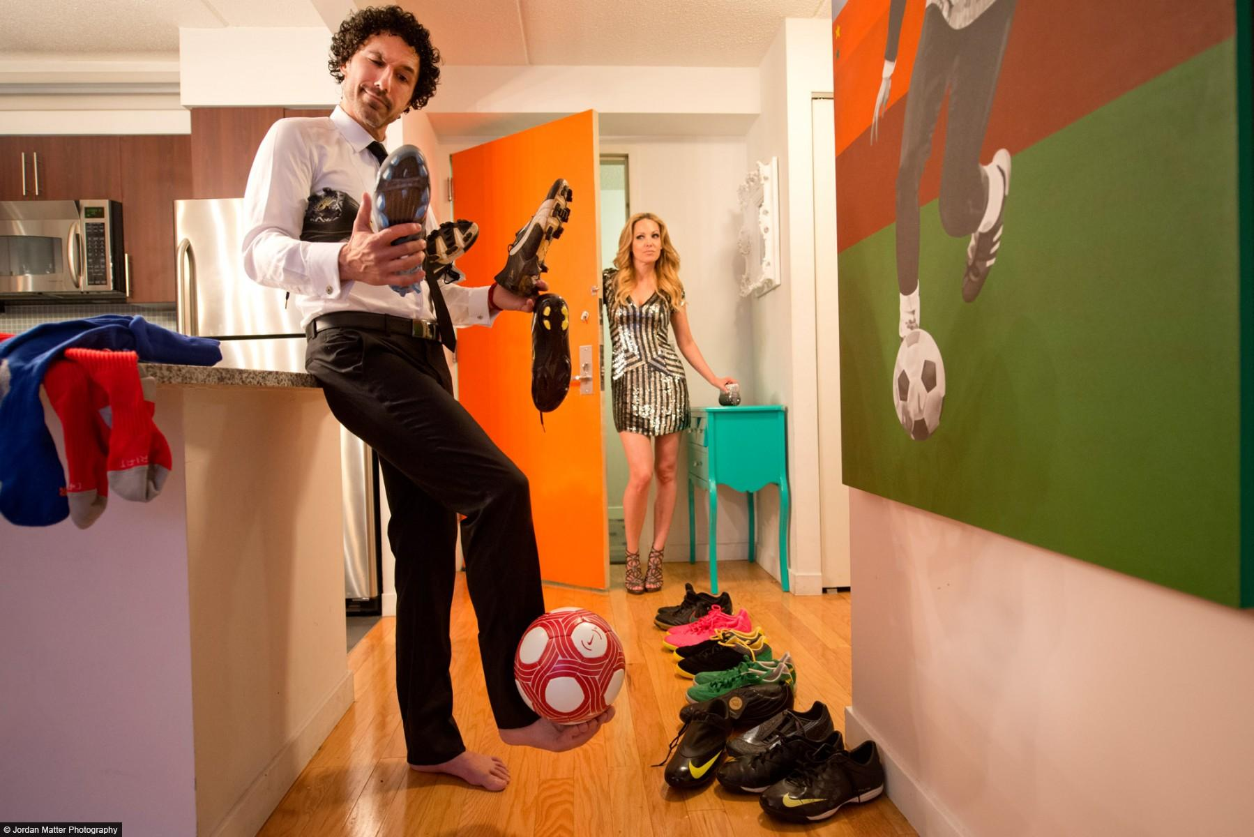 """Dressing For Dinner"" / Ethan Zohn / Professional Soccer Player"