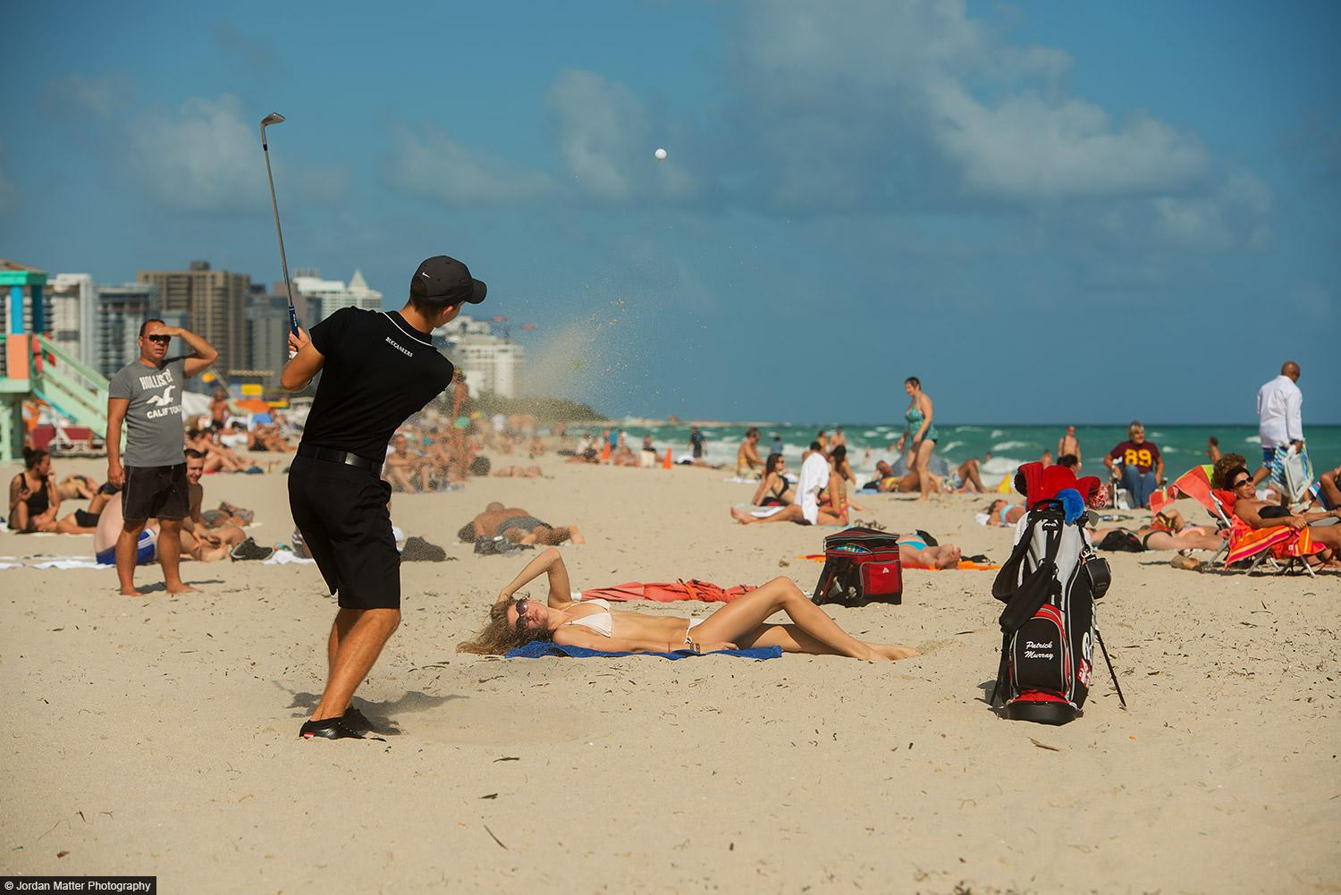 """Sand Trap"" / Patrick Murray / NCAA Golfer"